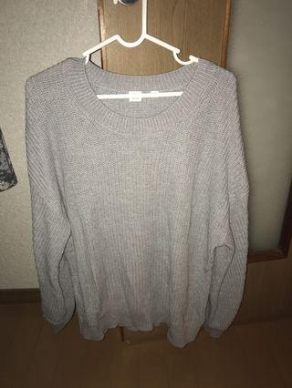 GAPの厚手ビッグニットセーター