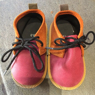 【13cm】スエード 靴