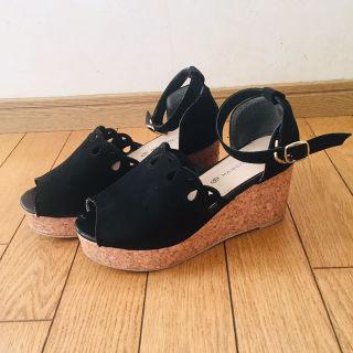 スカラップサンダル マジェスティックレゴン 靴