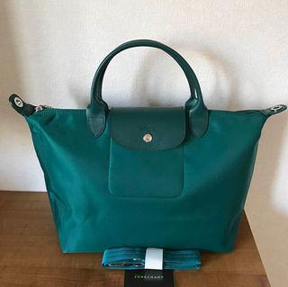 Longchamp ネオ トートバッグ  グリーン M