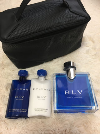 BLV香水新品 ポーチつき!
