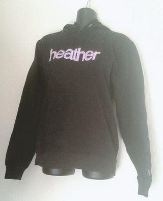 【heather】パーカー
