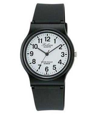 2colorシチズンQ&Q腕時計アナログ ファルコン 黒 白