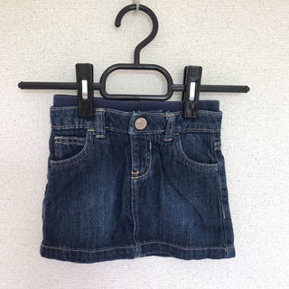 6-12ヶ月 子供 デニムスカート