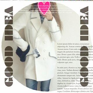 01 ・【プレミア】RODEOロングPコート/白/レア/春