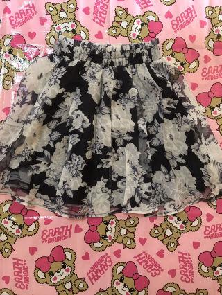 GRL 花柄スカート