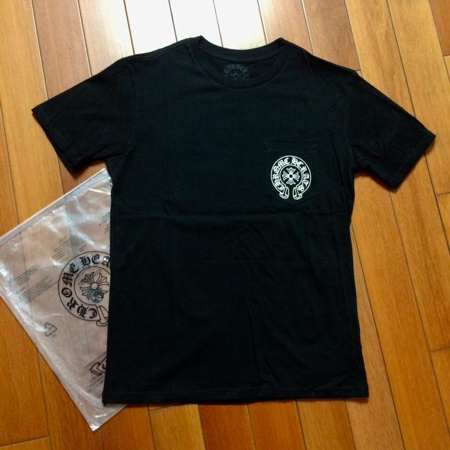 サイズM黒白二枚セット クロム八ーツ Tシャツ