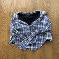 EGOISTチェックシャツ風スカート