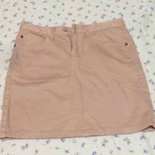 CEPO!くすみピンクが可愛いミニスカート Sサイズ