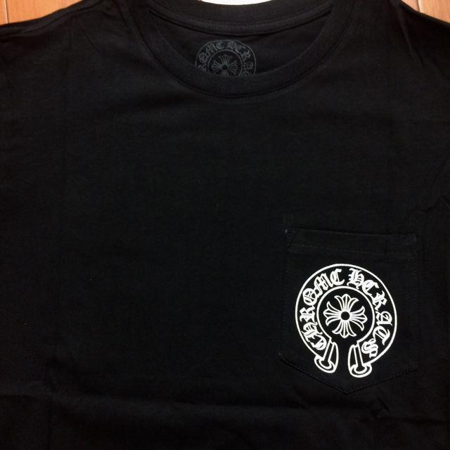サイズM黒 クロム八ーツ Tシャツ