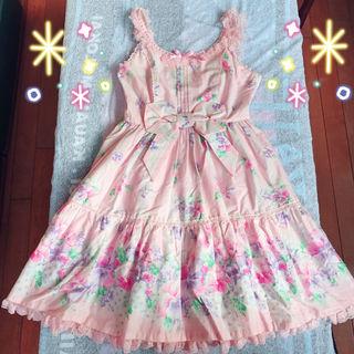 【新品】Angelic Pretty ロリータワンピ ピンク