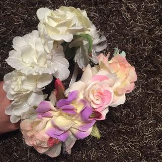 472 花冠 花カチューシャ