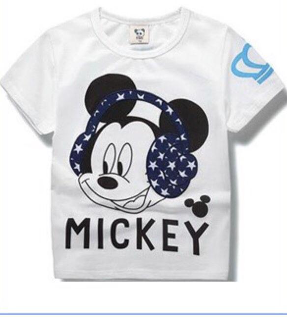 新品未使用韓国子供服 baby doll風ロゴTシャツ
