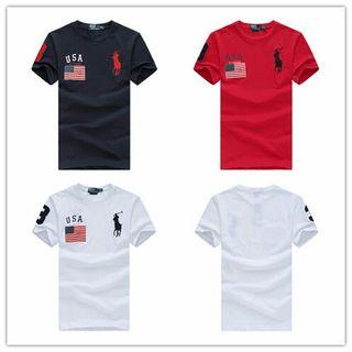 ポロ・ラルフローレン 国旗Tシャツ男女兼用