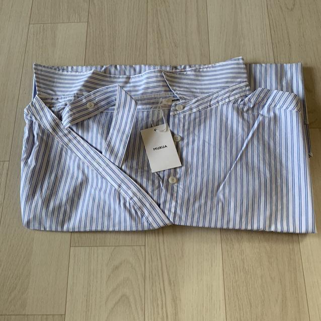 新品 MURUA ワンショルダーシャツ