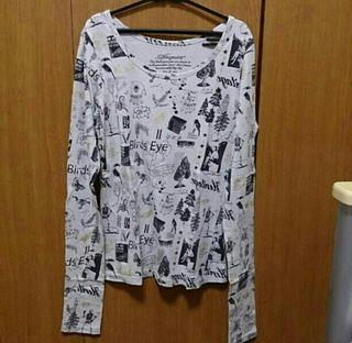 断捨離中につき特別価格!!!AnquietのロングTシャツ