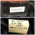 POSA DOLL ポサドール/フォーマルワンピース