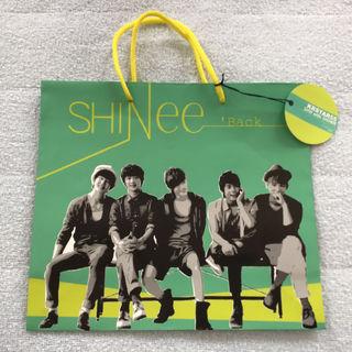 SHINee 紙袋 ショッピングバッグ 'Back