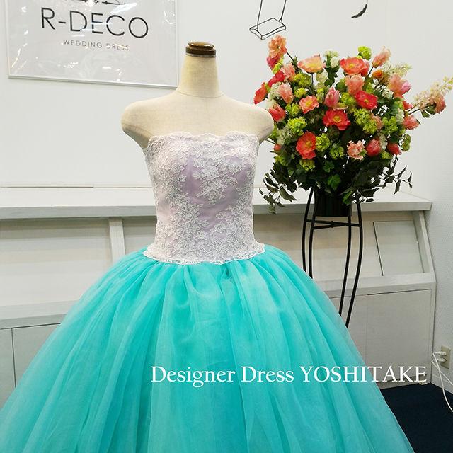 ウエディングドレス プリンセスシリーズアリエル風 披露宴