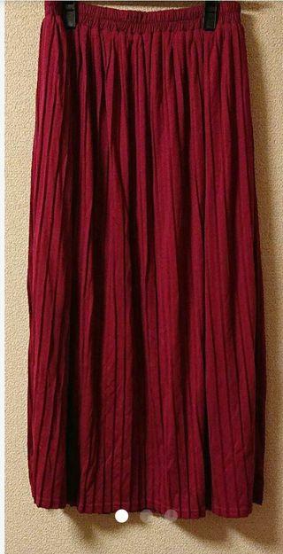 :/INGNI系*プリーツ大人可愛いロングスカート