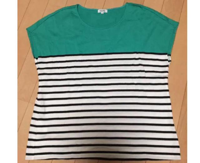 カットソー ボーダー Tシャツ(23区(ニジュウサンク) ) - フリマアプリ&サイトShoppies[ショッピーズ]