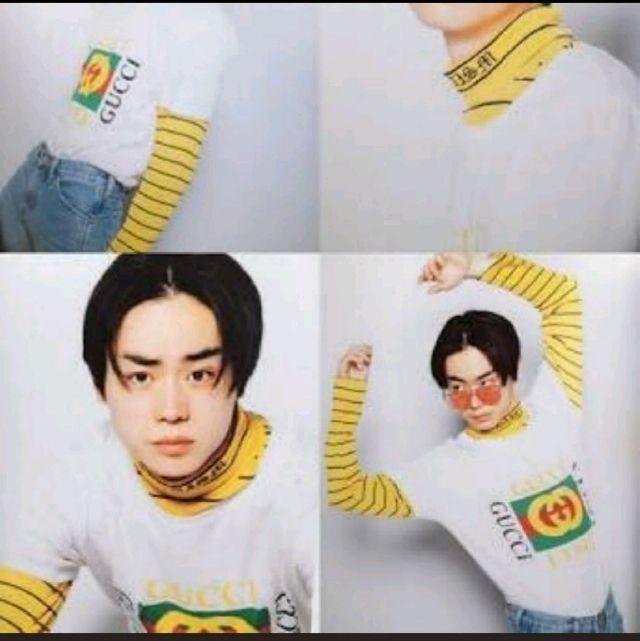 新品 ロゴ Tシャツ ホワイト GUCCI 菅田将暉 SLY