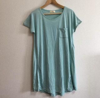 ユーズド風ロングTシャツ