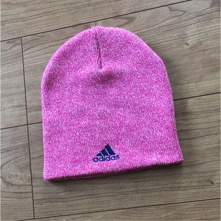 アディダスニット帽