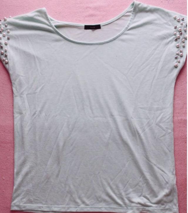 リエンダパールTシャツ(rienda(リエンダ) ) - フリマアプリ&サイトShoppies[ショッピーズ]