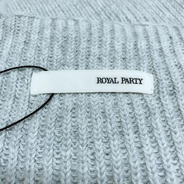 試着のみロイヤルパーティー 5分そで 薄手ニット