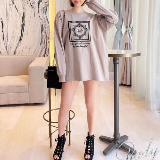 新品RadyホテルシリーズロングTシャツ