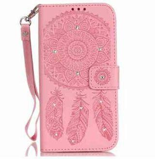 iPhone 6/6s ピンク ボヘミアン  手帳型ケース