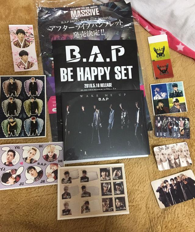 B.A.P CD wake me up 新品 おまけ付