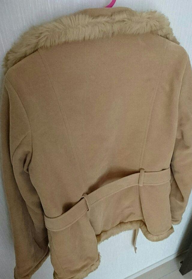 ほぼ新品キャメルジャケットコート