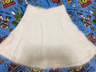 白 ニット スカート heather