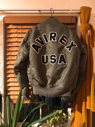 AVIREX  MA-1  ジャケット