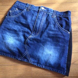 レディース バックス デニム スカート パンツ