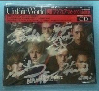 三代目 直筆 サイン CD