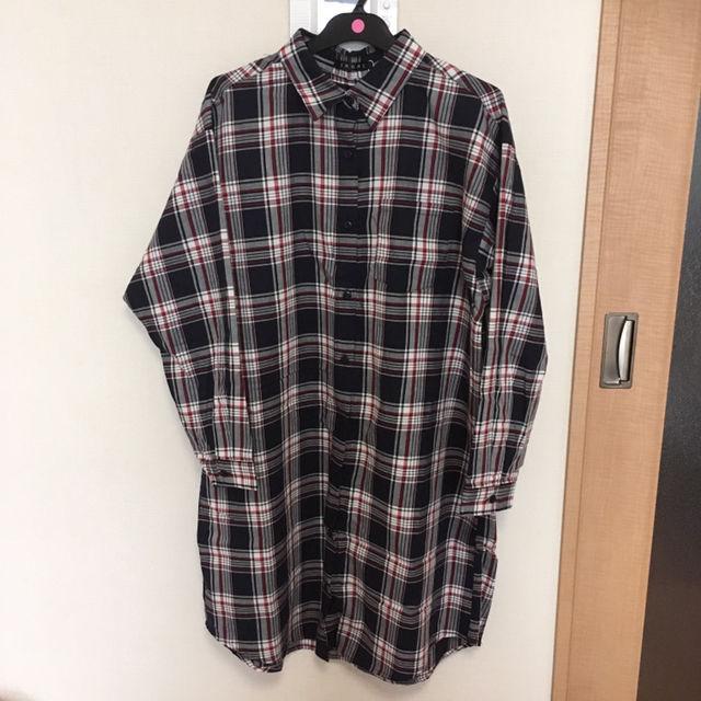 チェックシャツ ロングシャツ INGNI(INGNI(イング) ) - フリマアプリ&サイトShoppies[ショッピーズ]
