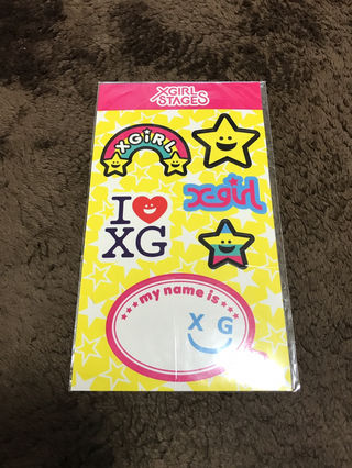 x-girl Stagesステッカー!シール!新品