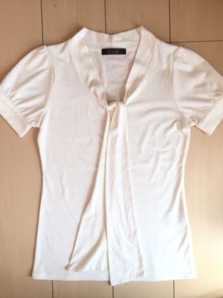 P&D リボンTシャツ