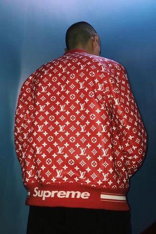 Sup×LV定番人気 素敵なジャケット 男女兼用