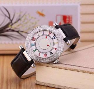 美品 ランクミュラー レディース 腕時計 ダイヤ付き