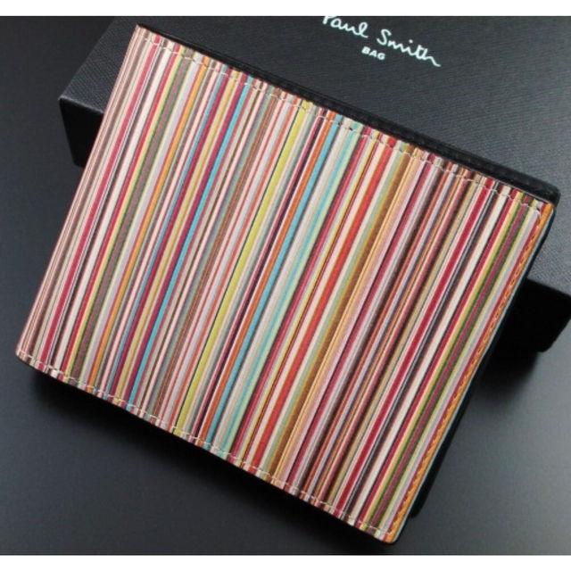 数量限定新品箱付 ポールスミス 人気マルチ 折り財布