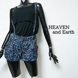 HEAVEN and Earth*サスペ付ショートパンツ