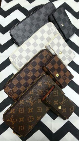 ジッピー長財布とキーケースのセット