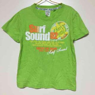 ビーチサウンド  プリント  Tシャツ