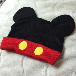 ミッキー ニット帽