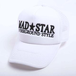 未使用 MAD STAR 立体刺繍ロゴ キャップ CAP