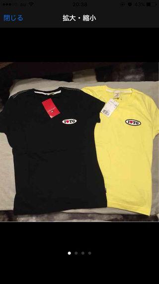 トミーガール Tシャツ ブラック&イエローセット